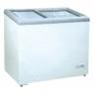 Freezer Kaca Geser Gea 186 Liter SD-186
