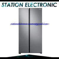 Inverter and Converter Samsung Refrigerator Side By Side 647 Liter RS61R5001M9