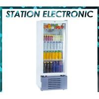 Showcase refrigerator RSA beverage cooler capacity 192 Liter Agate-200