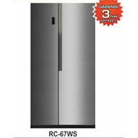 Two Door Refrigerator GEA Side by side 566Liter RC-67WS Capacity