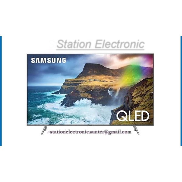 "Smart TV Samsung QLED TV 55"" Inch (No. Burn-In) - QA55Q70RAK"