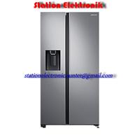 Inverter and Samsun Refrigerator Side By Side 617 Liter RS64R5141SL Converter