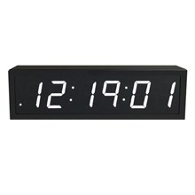 Ntp Sync Digital Clock Wifi 6 Digits Display