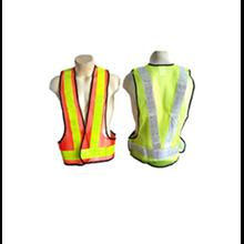 Rompi proyek V - rompi safety jaring v