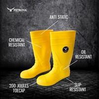 Jual safety boots petrova-Sepatu boots safety 2