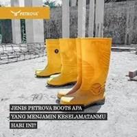 Distributor safety boots petrova-Sepatu boots safety 3