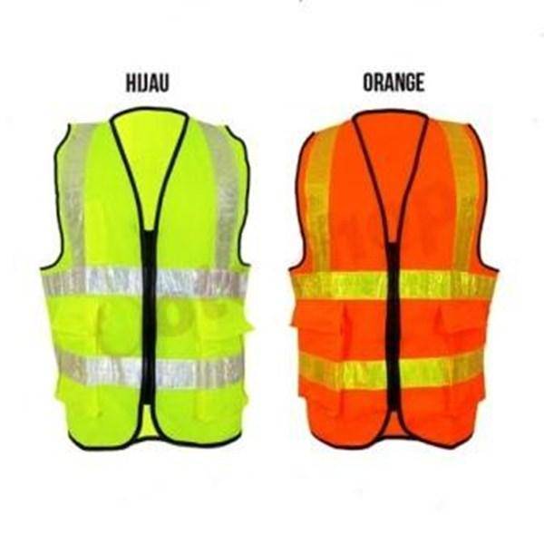 Rompi proyek kantong - Rompi mechanic - Pakaian Safety
