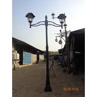 Lampu Jalan PJU - Tiang Taman Minimalis ABI