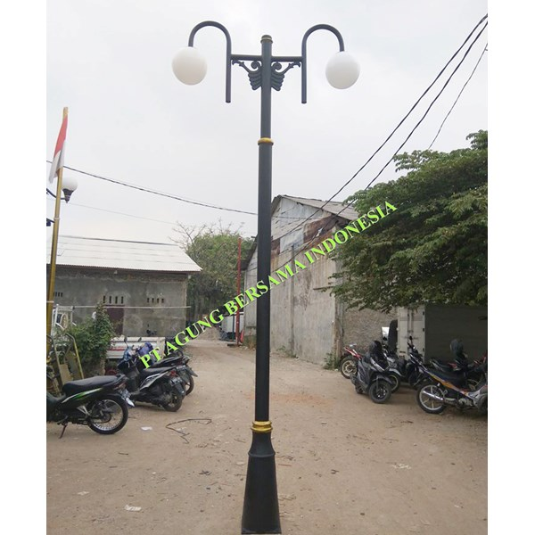 Tiang Lampu Antik Decorative Murah
