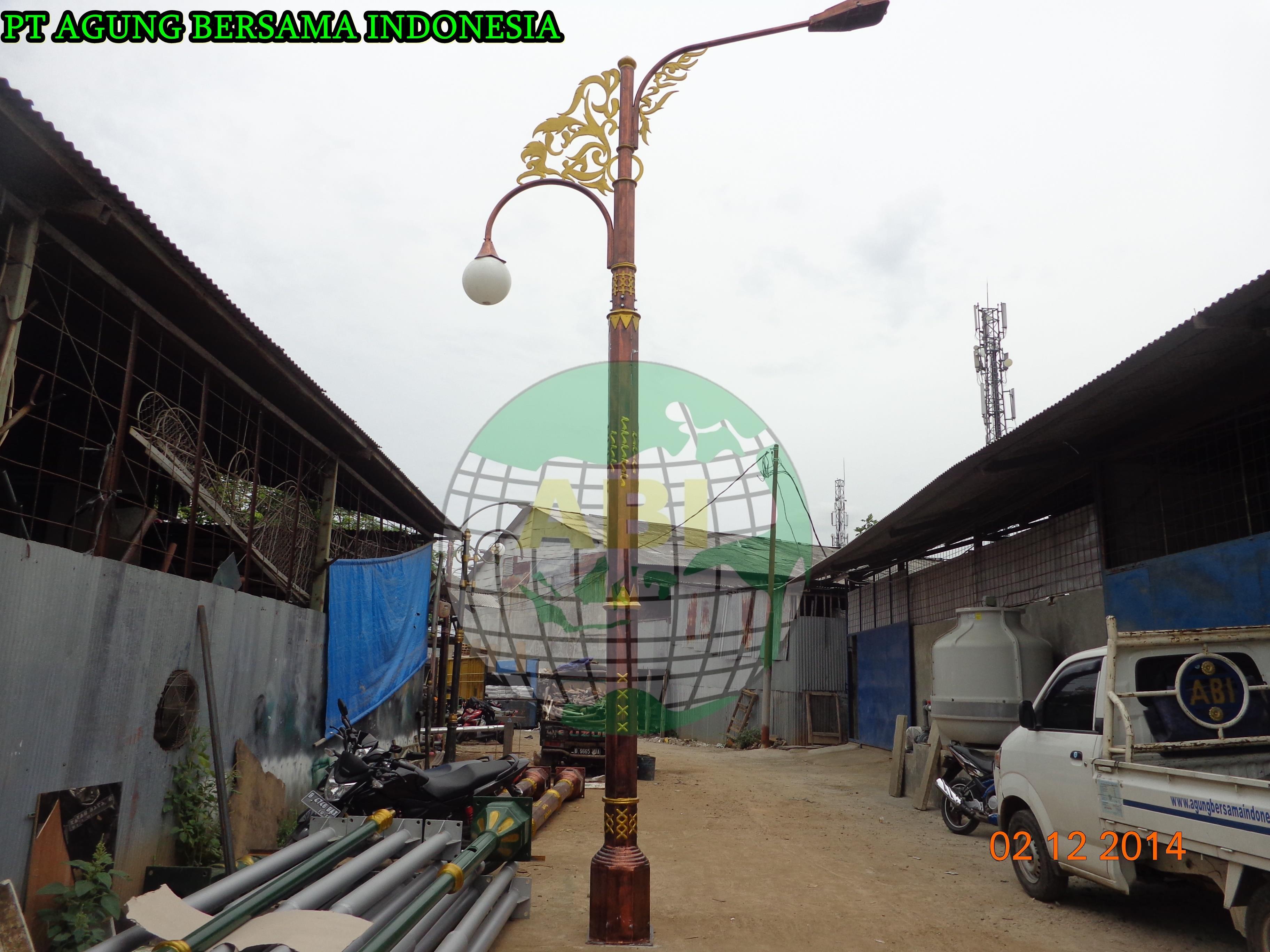 Jual Tiang Lampu Jalan Pju Decorative Jambi Harga Murah
