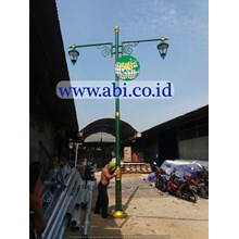Tiang Lampu Pju Decorative