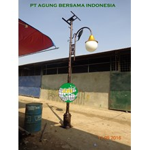 Tiang Antik Solar Cell Decorative