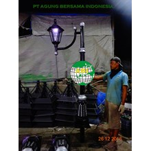 Tiang Lampu Antik Taman Decorative