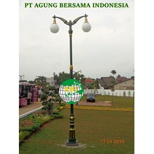 Siak Traditional Garden Light Pole
