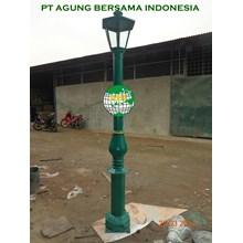 Minimalist Garden Lamp Masts