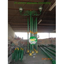 Tiang Lampu Taman Antik Decorative