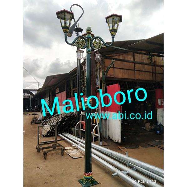 Tiang Lampu Antik Jalan Malioboro