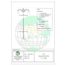 Tiang Lampu Taman BGR Bekasi