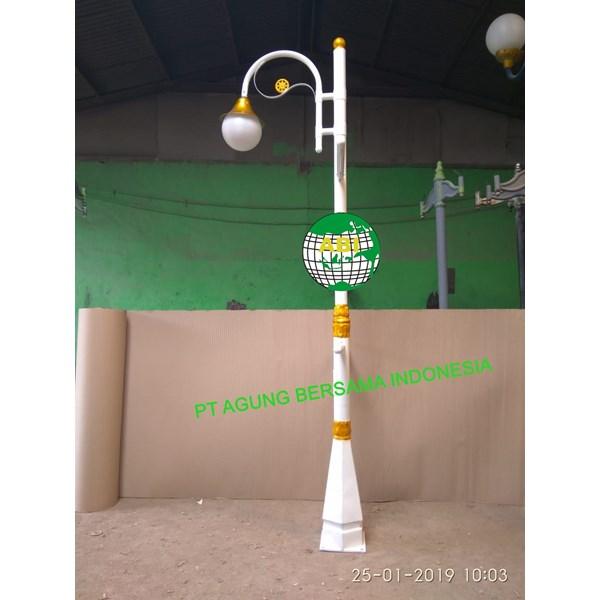 Tiang Lampu Antik Banner