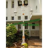 Tiang Lampu Taman Decorative