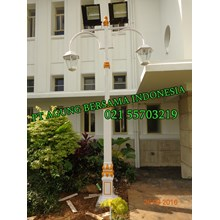 Tiang Lampu Taman Decorative