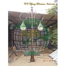Lampu Taman Antik ABI