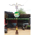 Bali Decorative Vintage Light Poles 1