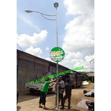 Lampu Jalan PJU Single Paraball