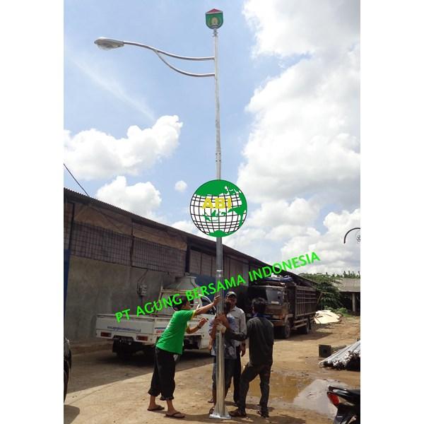 Lampu Jalan PJU Single Paraball