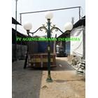 Tiang Lampu Antik Taman DPR 1