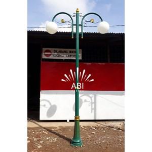 tiang lampu taman antik minimalis
