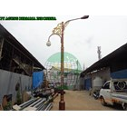 Tiang Lampu Oktagonal Decorative 1