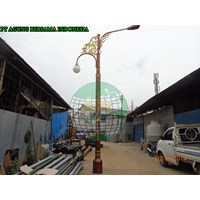 Tiang Lampu Oktagonal Decorative