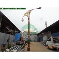 Tiang Lampu Oktagonal Decorative 1