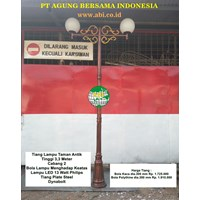 Price of Bulb Garden Lights Pole
