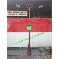 Supplier Tiang Lampu Taman 1