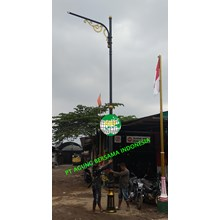 Tiang Lampu LED PJU Antik Decorative