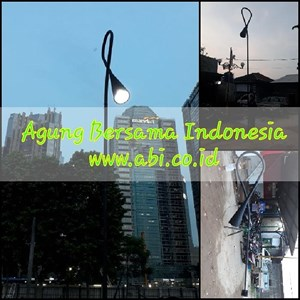 Tiang PJU Jakarta