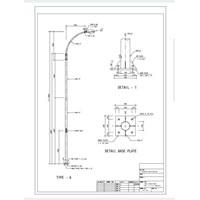 Harga Tiang PJU Oktagonal 9meter