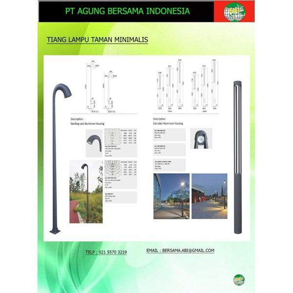 Model Tiang Lampu Jalan Minimalis LTM