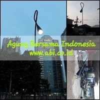 3Meter Street Garden Lights Masts