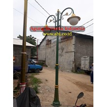 Solar Cell Antique Street Lamp Lights
