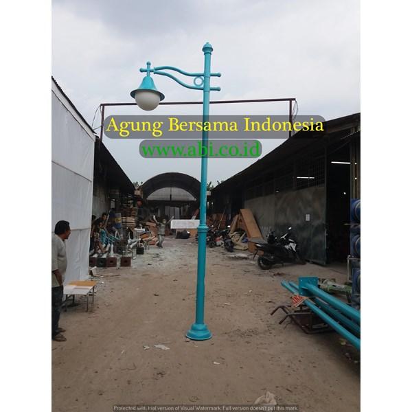 TIANG LAMPU TAMAN MURAH POLYTHINE