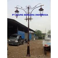 TIANG LAMPU JALAN PJU ABI 7 meter