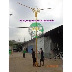 MODEL TIANG LAMPU TAMAN JALAN