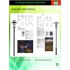 LAMPU TAMAN BOLLARD  1