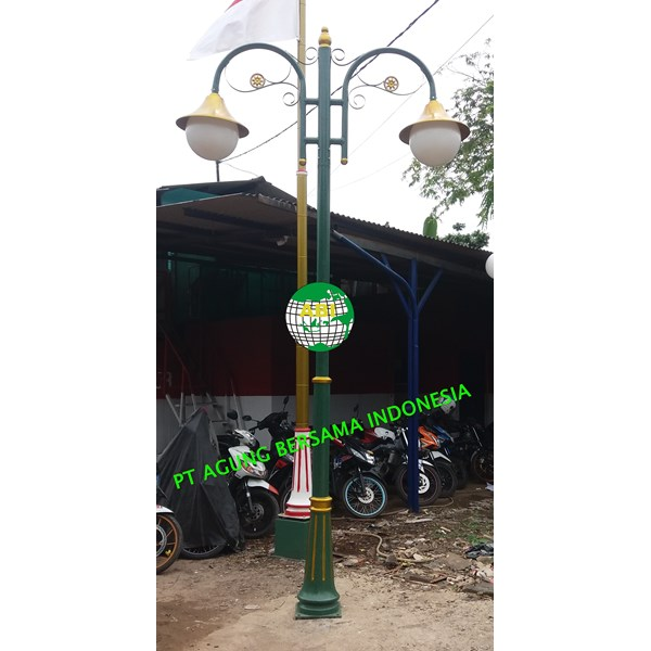 JUAL TIANG LAMPU TAMAN MINIMALIS