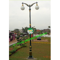 TIANG LAMPU TAMAN KLASIK MURAH