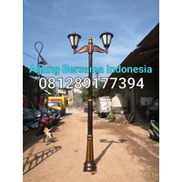 TIANG LAMPU DECORATIVE MURAH