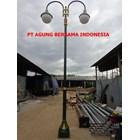 TIANG LAMPU PJU BULAT MURAH  2